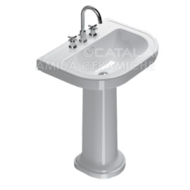 Lavabo con colonna Canova Royal